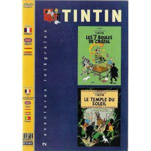 Coffret Les Aventures de Tintin - Le Temple du Soleil + Les 7 boules de cristal