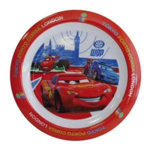 Spel 000919 - Assiette plate ronde Disney Cars 22 cm