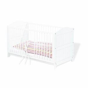 Pinolino 111617 - Lit bébé évolutif à barreaux Nina (140 x 70 cm)
