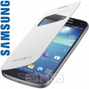Samsung EF-CI919BW - Étui à rabat pour Galaxy S4 Mini