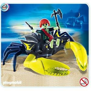 Playmobil 4804 pirate fant me et crabe g ant comparer - Playmobil pirate fantome ...