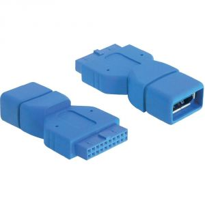 Delock 65288 - Adaptateur USB 3.0 type A femelle