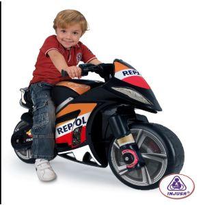 Injusa Moto électrique Wind Repsol 6 V