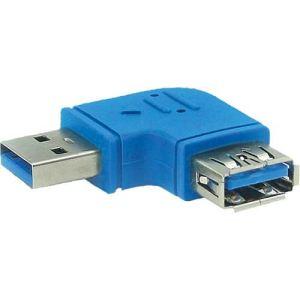Inline 35300M - Adaptateur USB 3.0 type A coudé vers la gauche à 90°