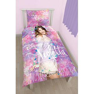 Housse de couette et une taie Violetta Passion (140 x 200 cm)
