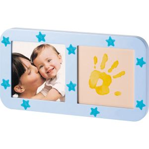 Baby Art Cadre photo Phospho Print Frame avec empreinte