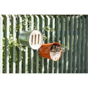 Guillouard Abri pour oiseaux et insectes multifonction Garden Life Box Métal, bois