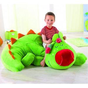 Haba Pouf Dragon en velours