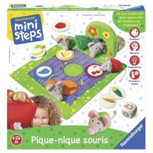 Ravensburger Mini steps - Pique-nique souris