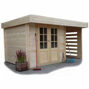 abri jardin toit plat comparer 165 offres. Black Bedroom Furniture Sets. Home Design Ideas