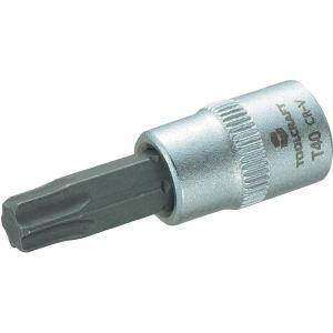 """Toolcraft 816276 - Douille de vissage 1/4"""" 6,3 mm avec embout Torx T40 de 37 mm"""