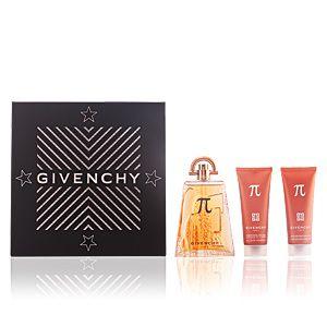 Givenchy Pi - Coffret eau de toilette, shampooing cheveux et corps et baume après-rasage