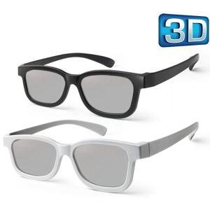 Meliconi 3D View 100 - 2 paires Lunettes 3D passives à polarisation circulaire