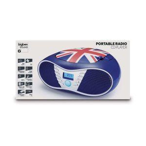 Bigben Interactive CD58 - Lecteur radio CD/MP3 UK