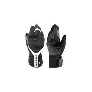 Spidi T-Winter (noir et blanc) - Gants moto textile hiver pour homme