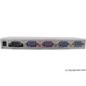 Dexlan 052040 - Partageur VGA 250 Mhz 4 écrans
