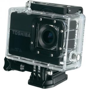Toshiba Camileo X-Sports - Caméra de poche fixable HD 12 mégapixel avec Wi-Fi