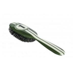 Rock and Ruddle Racing stripes Petit Format - Brosse à cheveux en poils de sanglier