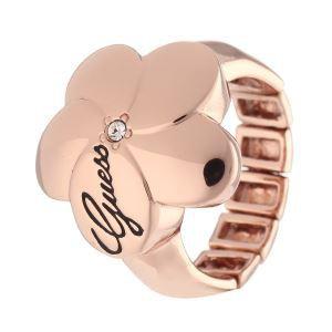 Guess UBR31104 - Bague pour femme ajustable en métal doré