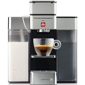 illy Francis Francis Y5 Milk - Machine à expresso Iperespresso