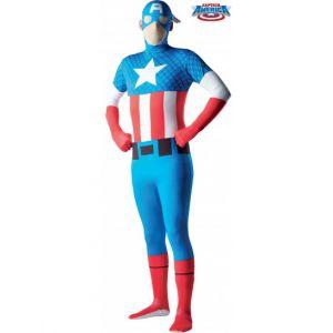 Rubie's Déguisement seconde peau Captain America