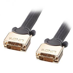 Lindy 37155 - Câble DVI-D Dual Link SLD 10 m Gris