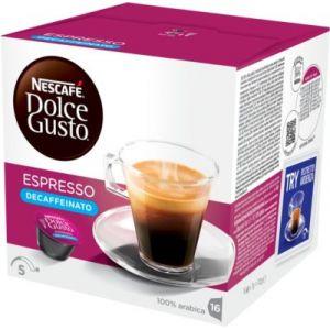 Nescafe 16 capsules Dolce Gusto Espresso Decaffeinato