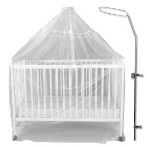 Bambisol Flèche de lit universelle  + voile moustiquaire