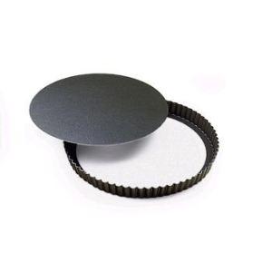 Gobel 226442 - Moule à tarte mobile en métal 30 cm