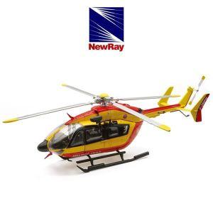 New Ray 25973 - Hélicopter Eurocopter Ec145 Sécurité Civile - Echelle 1:43