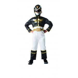 Simba Toys Déguisement de luxe avec muscles Power Rangers noir (5-7 ans)