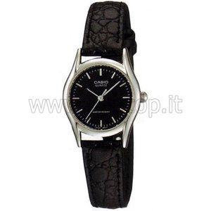 Casio LTP-1094 - Montre pour femme avec bracelet en cuir