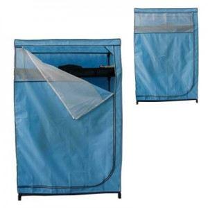 Penderie avec étagères en tissu nylon