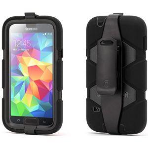 Griffin GB38929 - Coque de protection Survivor Beltclip pour Galaxy S5