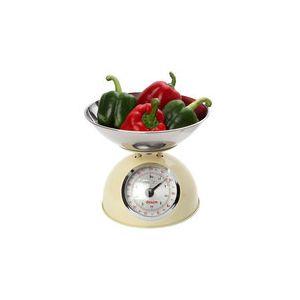 17848104 - Balance de cuisine mécanique capacité 5 kg avec bol en inox 2L