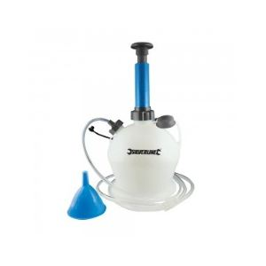 Silverline 104616 - Pompe manuelle de vidange huile et eau 4 litres