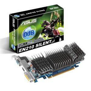 Asus EN210 SILENT/DI/1GD3(LP) - Carte graphique GeForce 210 Silent 1 Go GDDR3 PCI-E 2.0