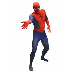 Déguisement classique Spiderman adulte morphsuits
