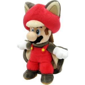 Nintendo Peluche Mario écureuil volant 21 cm