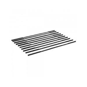 Silverline 783170 - 10 lames pour scie à chantourner 130 mm - 10 TPI