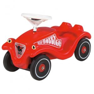 Smoby Porteur Bobby car Classic rouge