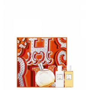 Hermès Eau des Merveilles - Coffret eau de toilette, lait pour le corps et gel douche