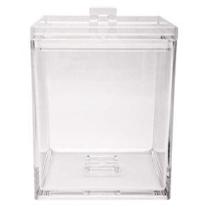Zak! Designs Boîte de rangement empilable M en plastique