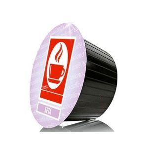 Capsules Dolce Gusto compatibles Seta 100% Arabica x100