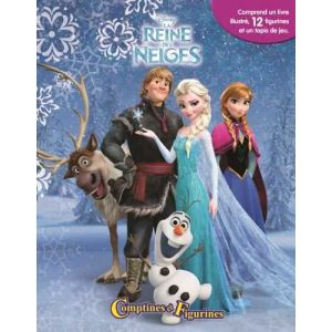 Comptines et figurines La Reine des neiges