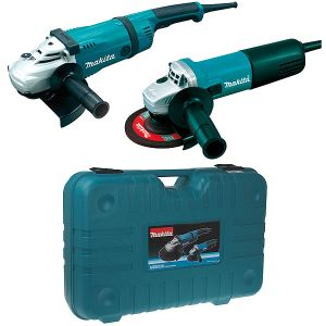 Makita MEU020G - Coffret 2 meuleuses GA9030 230mm + 9558NB 125 mm
