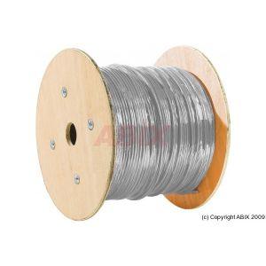 Dexlan Câble monobrin F/FTP cat 6A LS0H gris 500 m
