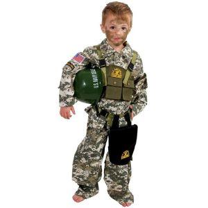 Smiffy's Déguisement militaire enfant (5-14 ans)