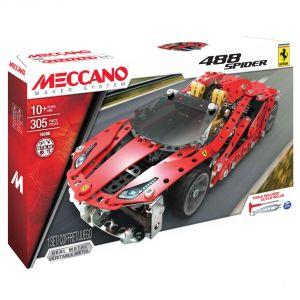 Spin Master 6028974 - Voiture Ferrari 488 Spider 305 pièces