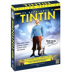 Coffret Tintin - Tintin et les oranges bleues + Tintin et le mystère de la Toison d'or